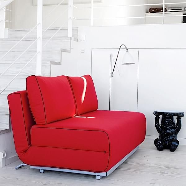CITY armchair and sofa: in one minute, you get a comfortable sofa bed - deco and design, SOFTLINE