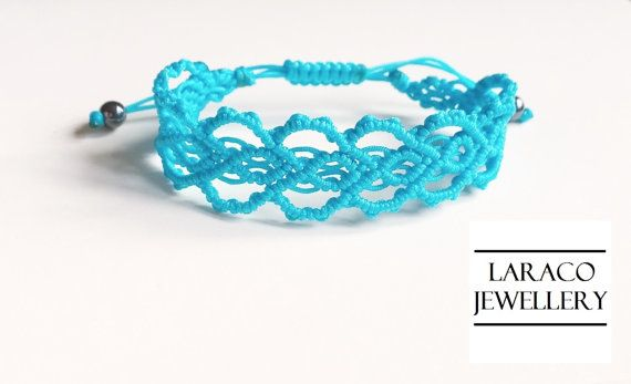 Laraco Jewellery  Big Hearts Macrame Friendship by LaracoJewellery