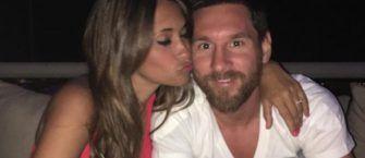 Así fue la historia de amor que unió a Messi y Roccuzzo