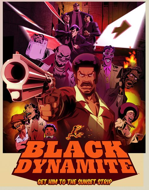 Adult Swim premieres Black Dynamite - the animated series - tonight! [July 8, 2012]