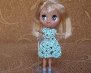 Vestido para Boneca Petit Blythe - LPS