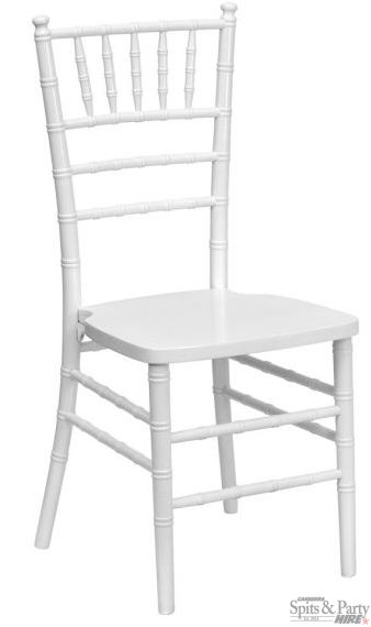 Tiffany+Chairs+Hire+-+White+Chiavari+-+Tiffany+/+Chiavari+chairs+are+perfect+for+wedding+ceremonies,+wedding+receptions,+baby+showers,+high+teas+and+any+other+elegant+special+events. They+are+made+from+high+quality+resin+and+feature+steel+reinforcement+for+a+heavy,+high+quality+feel+and+function. Size: 770mm(h)+x+380mm(w)+x+450mm(d)+160kg+weight+limit.