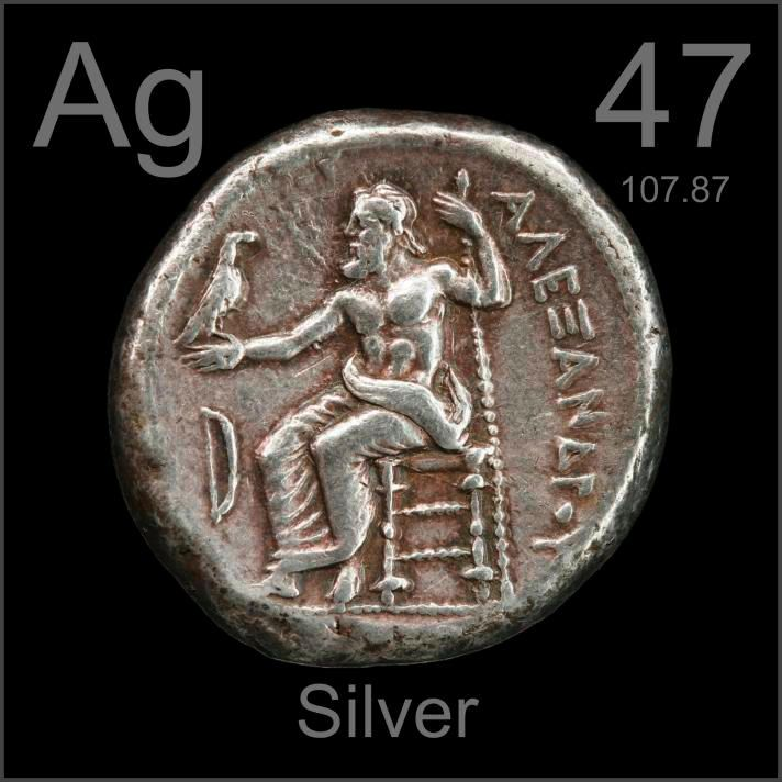Silver used as Money for thousands of years, now used in the Solar Industry, Medical Devices, Anti-Bacterial, Electronic Devices, Water Purification, RFID Chips, Jewelry and Batteries.  Did you know that historically 1/10 of  an ounce of Silver was equal to a working mans daily wage.  It still is in many parts of the world.