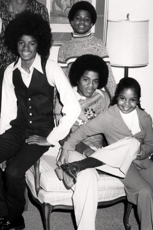Janet, Marlon, Michael & Randy Jackson