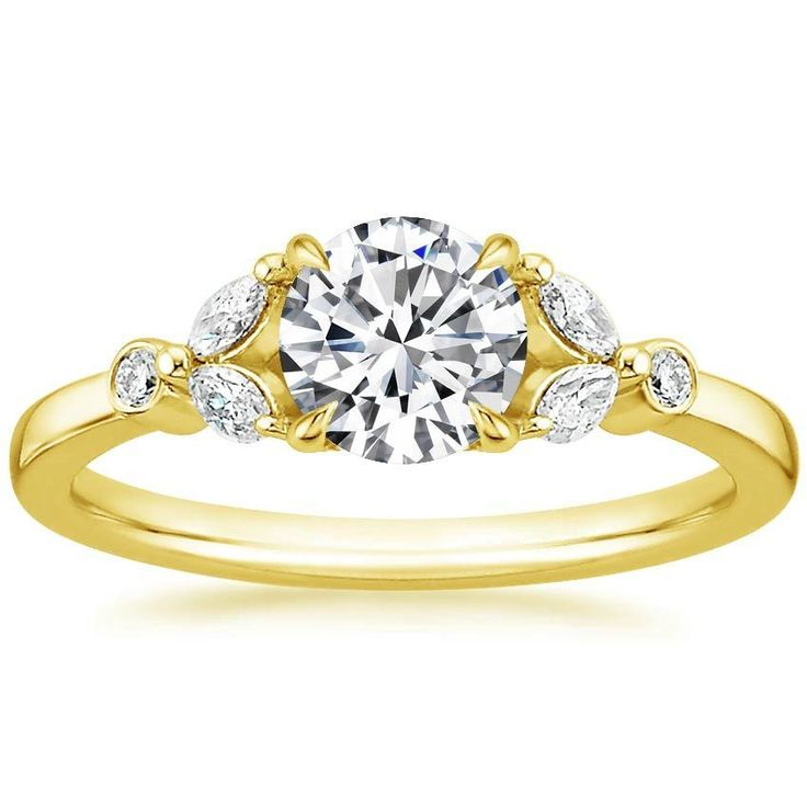 18K+Yellow+Gold+Verbena+Diamond+Ring+from+Brilliant+Earth