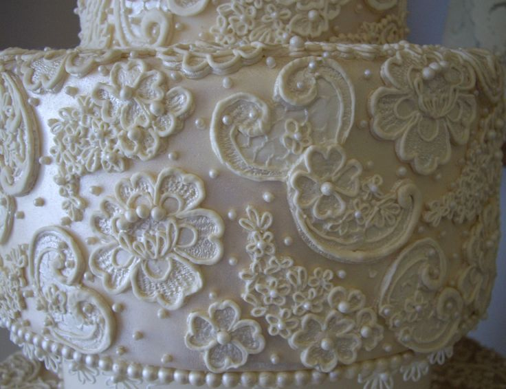 92 best projects to try images on pinterest container for Lace templates for cakes