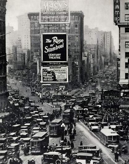 NYC. Times Square 1922