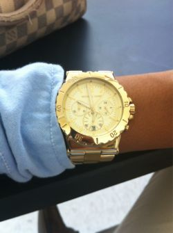 Love this!: Arm Candy, Fashion, Style, Michael Kors Watch, Gold Watches, Jewelry, Accessories, Michaelkors