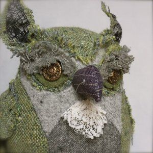 Ann Wood handmade owl