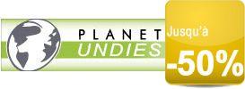 Slips, boxers, shorty, tangas,… pour homme soldée jusqu'à -50% chez Planet Undies