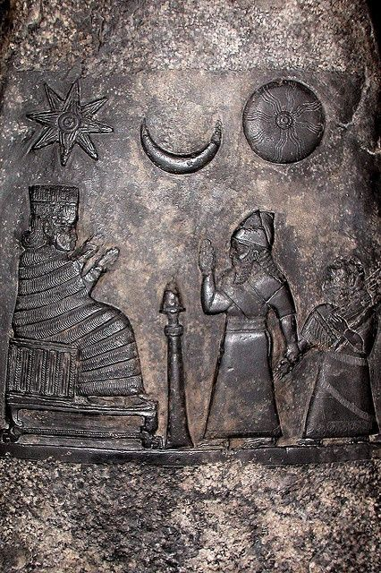 Sumerian knowledge of the sun, moon and stars....