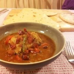 Light, smoky chicken and chorizo stew with peppers @ allrecipes.co.uk