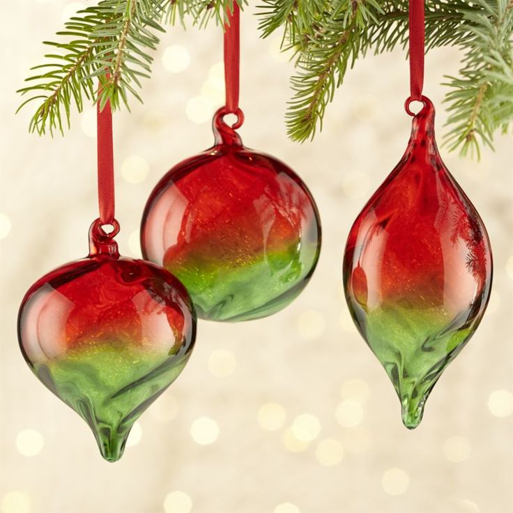 Best christmas ornaments art glass images on