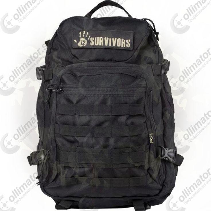 Тактический рюкзак Sightmark TS41000B с поясной поддержкой (черный)
