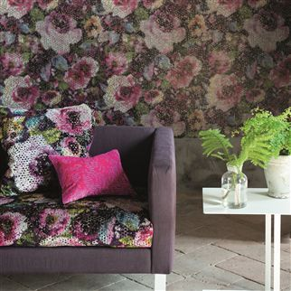 Designers Guild - Fabric - Palasini Damson