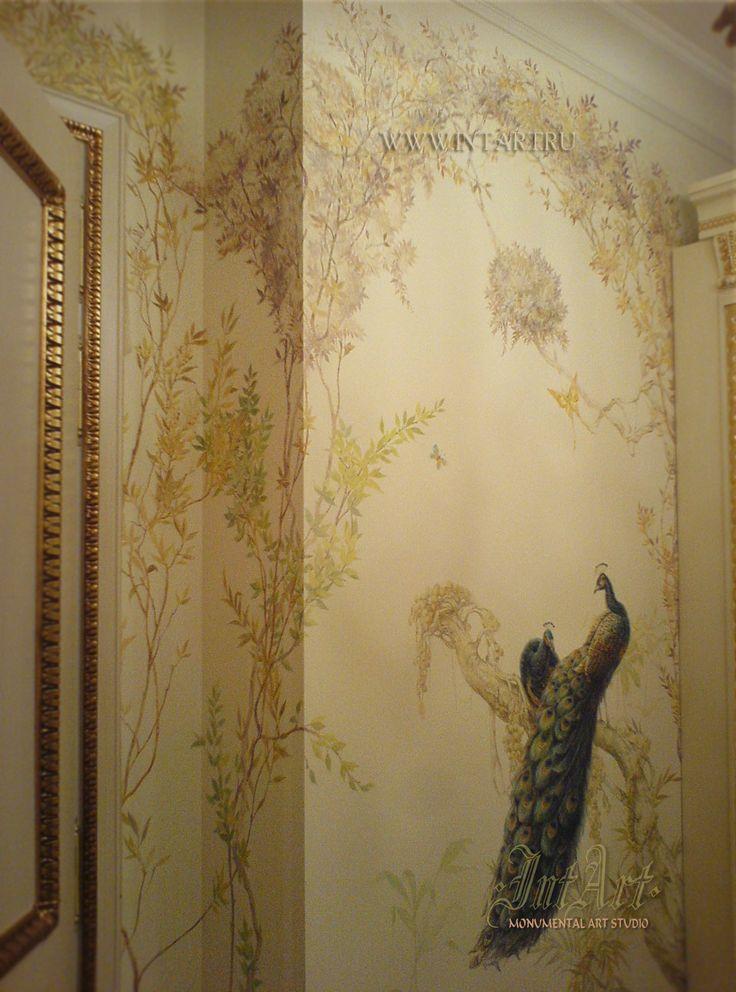 Фрагмент росписи кухни. #murals #painting #intart #роспись_стен #роспись #IntArtStudio