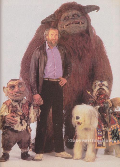 Hoggle, Jim, Ludo, Didymus and Ambrosius. Okay, so Jim ... Labyrinth 1986 Ludo
