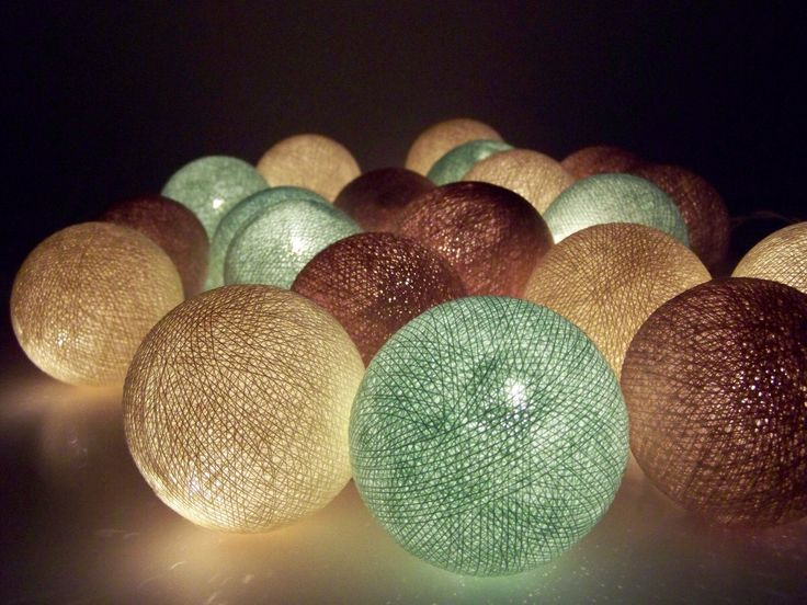 Fairy lights, for all countrys, big balls, string lights, cottonball lights, christmas lights, party, wedding, decoration lights by SiamroseOriginal on Etsy https://www.etsy.com/listing/204527152/fairy-lights-for-all-countrys-big-balls