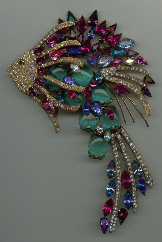 Huge Fish Brooch by Designer John CatalanoOne of a by Jewelboy, $495.00