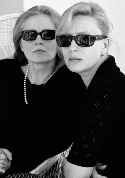 Krystyna Janda i Magda Umer