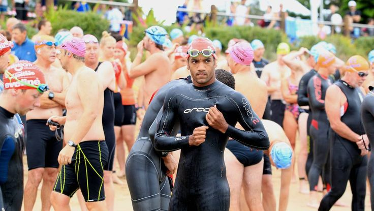 All the action from the Australia Day Aquathon.