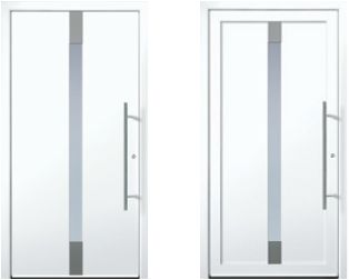Contemporary and modern entry doors by Groke. A superior alternative to fiberglass steel or wood doors.  sc 1 st  Pinterest & 25 best Modern Entry Door images on Pinterest   Entry doors ... pezcame.com