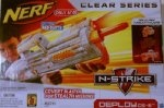 Nerf N-Strike Clear Series: Deploy CS-6 by Hasbro