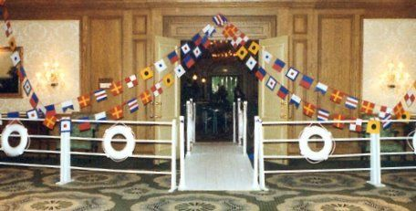 party entrance ideas | Themed Parties: Cruise Ship Party for Your Holiday Event