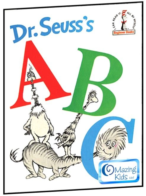 """Celebrate Dr. Seuss' birthday on March 2nd with """"Big A, little a – A Dr. Seuss ABC's alphabet extravaganza (kids yoga & early literacy)"""". See the new OMazing Kids blog post for a kids yoga lesson plan, song, coloring sheets, printables, links to great articles & resources, and more! http://omazingkidsllc.com/2013/02/21/big-a-little-a-a-dr-seuss-abcs-alphabet-extravaganza-kids-yoga-early-literacy/"""