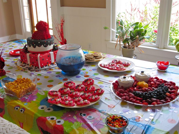 292 Best Elmo Party Images On Pinterest