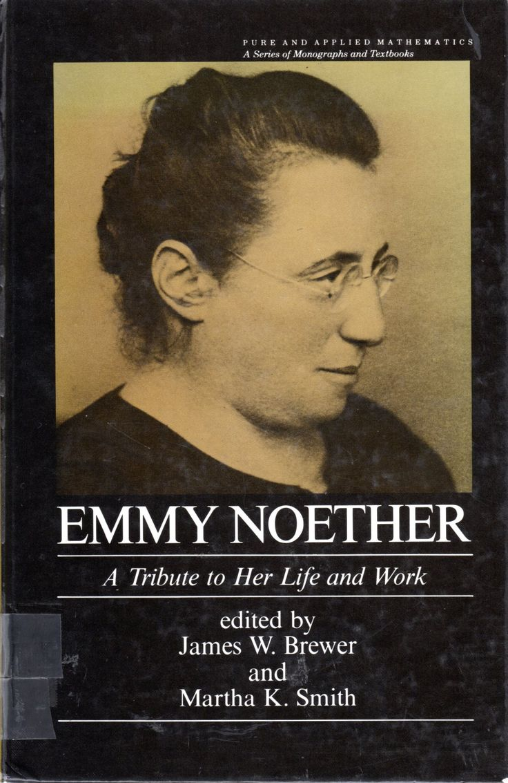 the life of emmy noether and her work in the field of mathematics This event celebrates the work and life of emmy noether, one of the first visitors at the institute from 1933-35 a highly prolific mathematician who published groundbreaking papers in rarefied fields of abstract algebra and ring theory, noether is best known for her theorem, which united two.