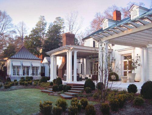 Georgianadesign outdoor architecture and southern style for Southern architectural styles