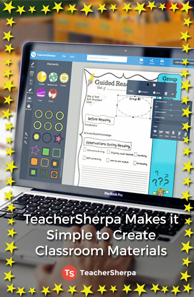 Have you checked out TeacherSherpa yet? Print freebies for your classroom and try out the simple editor yourself. Start creating today at teachersherpa.com!