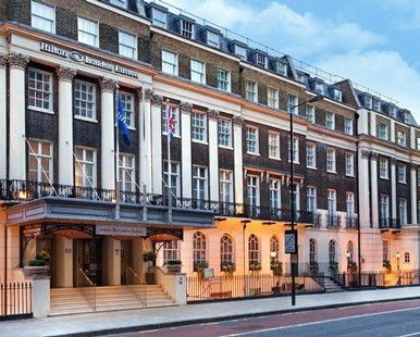 Hilton London Euston hotel - Hotel Exterior Day