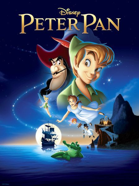 Disney's Peter Pan 2-Disc Blu-Ray + DVD Combo w/Slip Cover NEW, SEALED! Description from ebay.com.