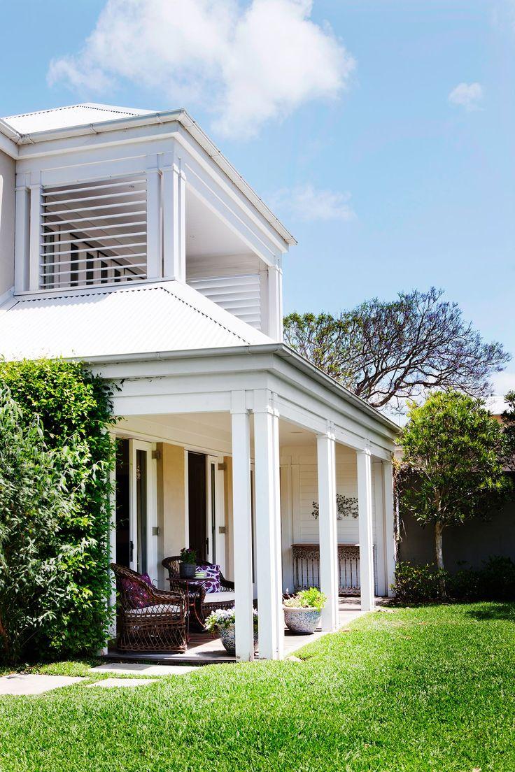 Traditional australia federation exterior inspirations paint - Australian Home Via Australian House And Garden 2