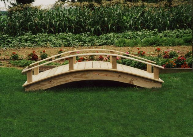 garden footbridge wooden footbridge pictures woodworking projects plans 2648