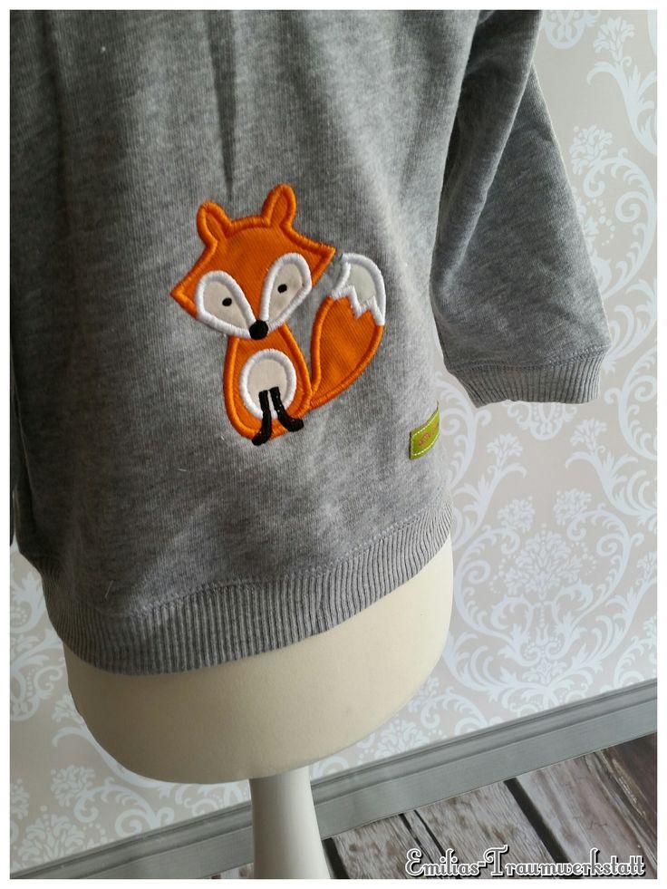 Kapuzenjacke Fuchs Hoody Hoodie Fuchs Fox Jacke | Emilias Traumwerkstatt