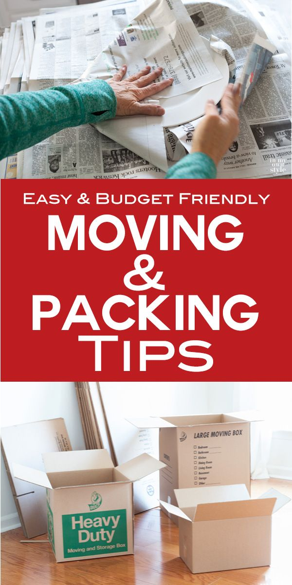 How to pack up a home. If you are moving soon and want to save time and money on moving expenses this post will help you. | In My Own Style