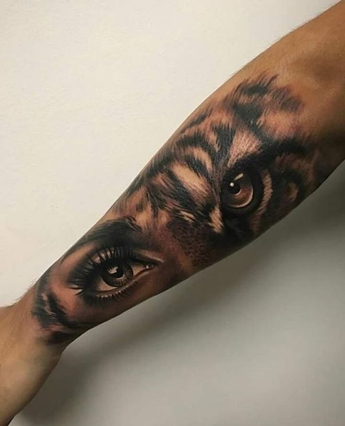 1001 ultra coole tiger tattoo ideen zur inspiration tattoo tatoo and tatting. Black Bedroom Furniture Sets. Home Design Ideas