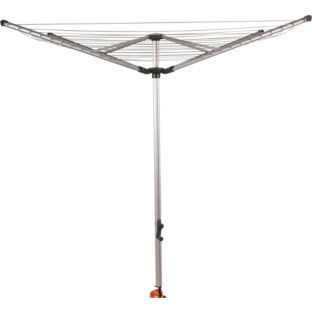 Buy 60m 4-Arm Outdoor Rotary Airer at Argos.co.uk - Your Online Shop for Washing lines and airers. £49.98
