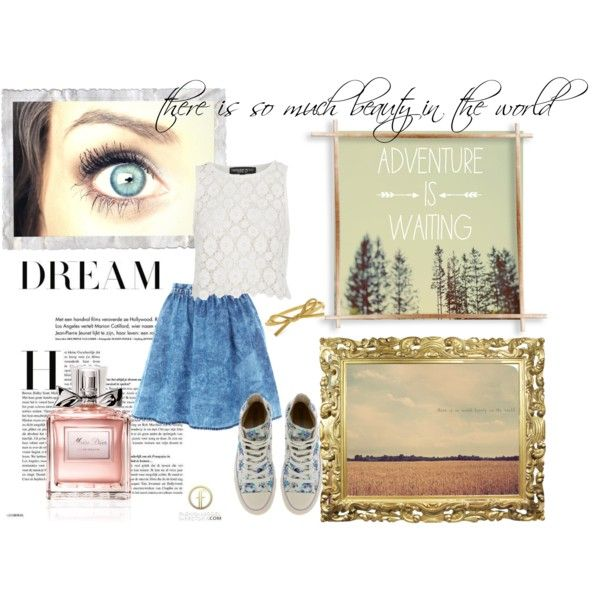 Adventure is Waiting by lilrocker-1 on Polyvore
