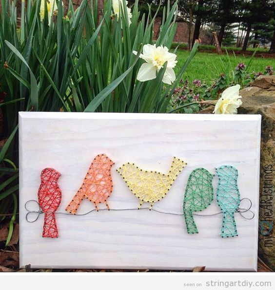 String Art Ideas | String Art# DIY | Tutorials, videos and free patterns