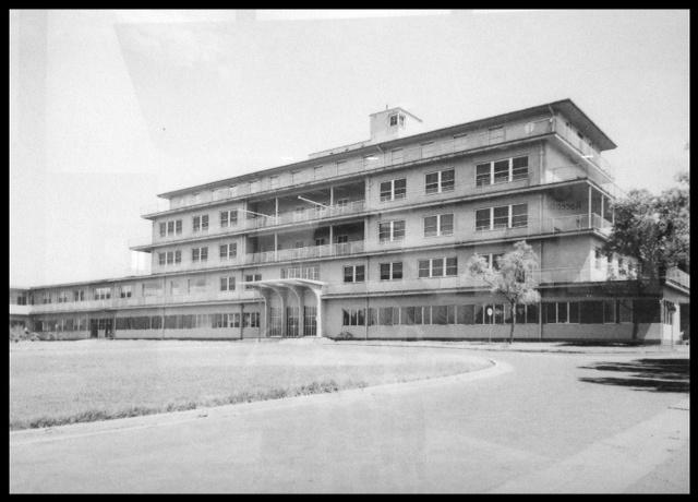 The old Broken Hill hospital.