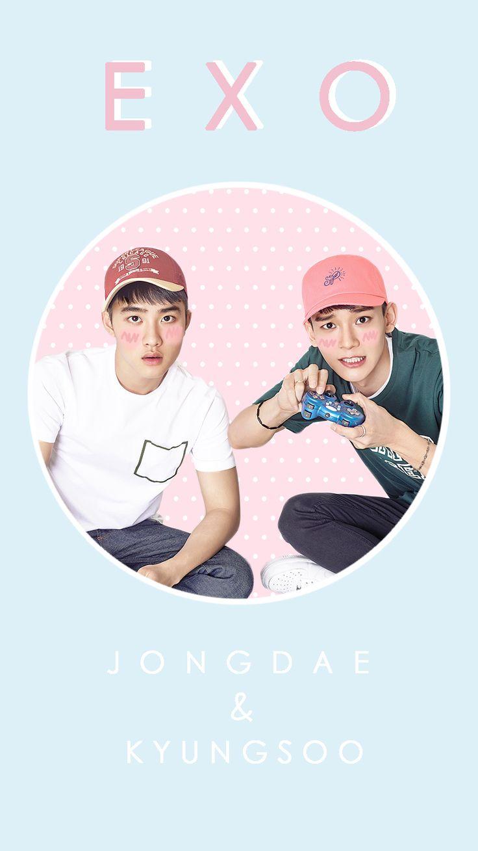 Exo iphone wallpaper tumblr - Exo Pastel Wallpaper Tumblr