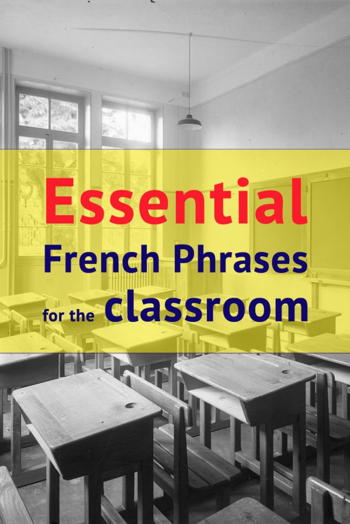 111 Essentiële Franse zinnen voor in de klas