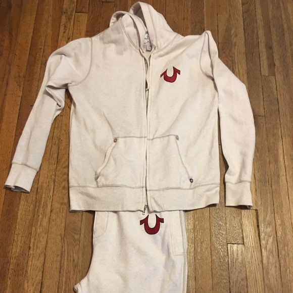 Men's True Religion Jogging Suit Worn a couple times. Great condition. True Religion Other