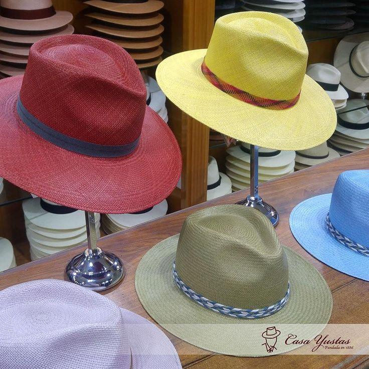 Nueva Colección de Primavera/Verano en Casa Yustas! Sombreros Panamá: LUJAR (Azul Claro) - ORCE (Amarillo) - JAYETANA (Oliva) - TRINITO (Malva) - AULADA (Coral) #hat #sombrero #hatoftheday #style #hatters #inspiracion #clasico #accesories #fashion #moda #complemento #accesorios #meencanta #verano #PanamaHat #SombreroPanama
