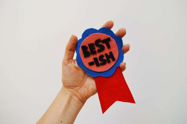 Easy DIY Participation Ribbons Party Favours