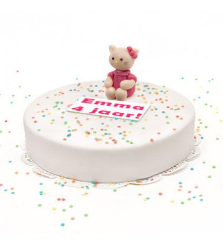 3D Hello Kitty Cake This Fun And Original 3D Hello Kitty Cake You Can Order Online And Have It Delivered Throughout The Netherlands. Filled With Delicious Cream And A Fresh Fruity Filling Decorated With Sugar Confetti And A Handmade Marzipan Hello Kitty.